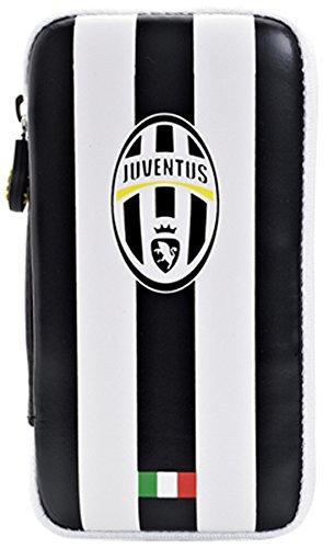 Juventus Custodia con Zip Universale, Bianco/Nero