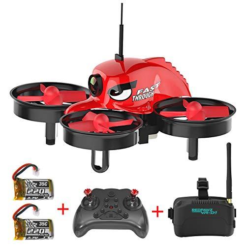 REDPAWZ R011 Drone con Telecamera 5.8G 40CH Micro FPV Racing App Mobile Controllo Grandangolare...