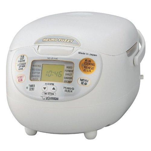 Zojirushi En dehors du Japon (5gou cuisinier) Micro Rice Cooker NS-ZLH10 WZ (Par locale AC220-230V)