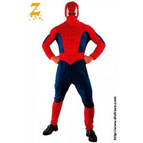 Fyasa 866743-t04Spider Hero disfraz, tamaño grande
