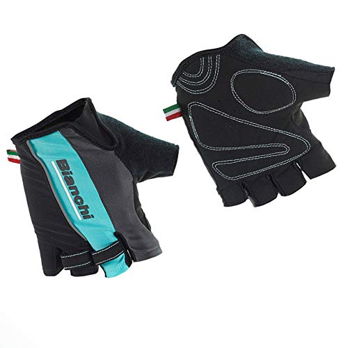 Bianchi - Guanti Estivi Sport Line 2019 Taglia L Colore Nero/Celeste cod. C9531484