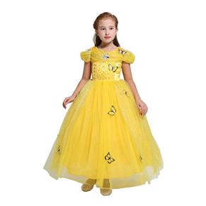 INGSIST Vestidos de Princesa para niña Disfraz Fiesta de Halloween Disfraces