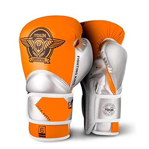 Guantoni da Box per Bambini Junior Punch Bag MMA Training Guanti Muay Thai da 4-oz 6-oz per Bambini...