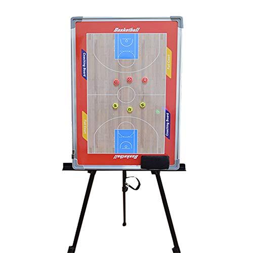 Lavagna Magnetica per Allenatori Tavola da basket tattica a terra durevole basket cancellabile a...