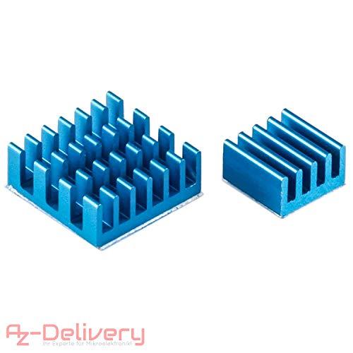 AZDelivery Set Passivo Alluminio Dissipatore In diverse misure per Raspberry Pi Modello A + B –...