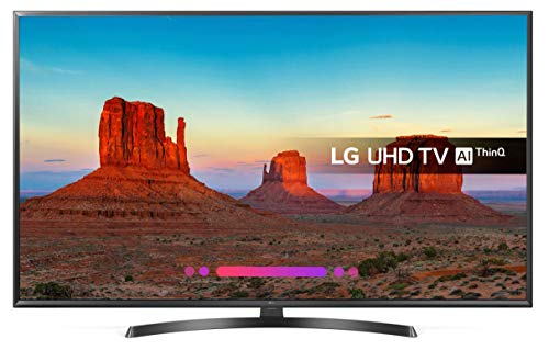 LG TV UK6470 da 65' Ultra HD . Smart TV - 4K - Active HDR - HEVC - WiFi - Bluetooth - serie 2018...