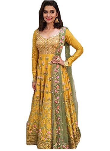 new anarkali salwar suit set for women for party wear | gowns for ...
