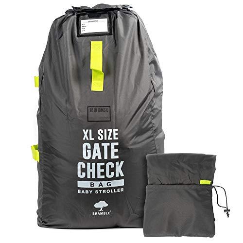 Extra Large Passeggino Transport, Borsa da Viaggio con Tracolla per Check-in nel Gate dell'aeroporto- per Contenere passeggini o seggiolini Auto- Include Una Custodia da Viaggio Pieghevole