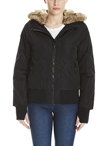 Bench Rich Look Bomber Giacca, Nero (Black Beauty Bk11179), X-Large Donna