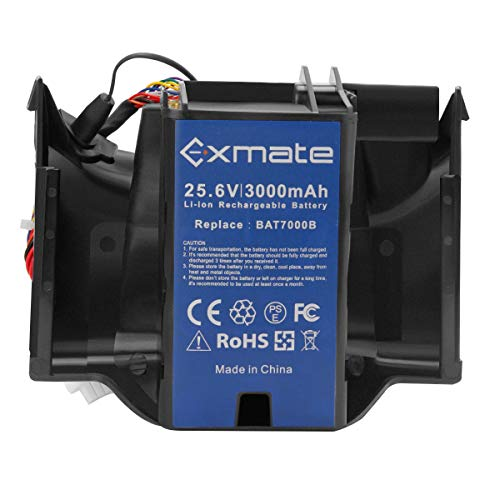 Exmate 25.6V 3.0Ah Batteria per Robomow Premium RC-Serie, RC302, RC304, RC304u, RC306, RC308, RC308u, RC312, RC312u