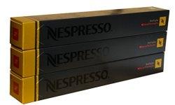 A photograph of the Nespresso Volluto Decaffeinato coffee pods