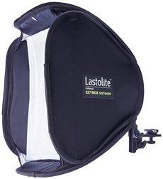 Lastolite Ezybox Hotshoe - Ventana de luz para iluminación fotográfica, Negro y Color Blanco