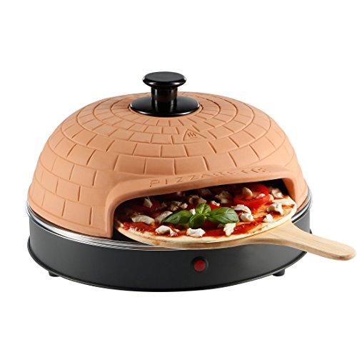 Ultratec Pizzarette Classic XXL, Forno per Pizza con Piastra in Metallo - per Una Pizza con 25 Cm di...