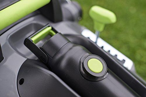 Gtech 1-05-005 Cordless Lawn Mower Vacuum Cleaner, 670 W, 40 Liters, Grey/Green/Black