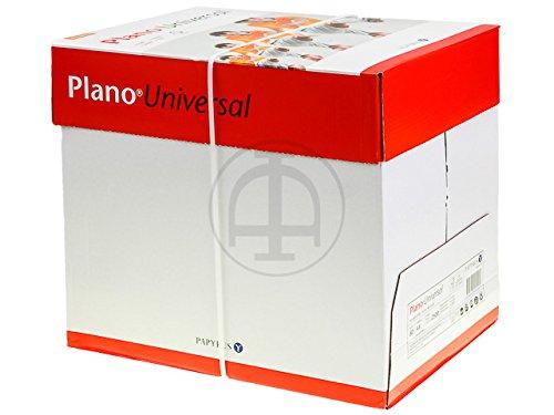 PLANO UNIVERSAL PAPIER A4 WEISS 1Ries=500Blatt 80gr FSC 5 x 500 Blatt