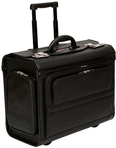 Tassia - valigia pilota bagaglio a mano - con rotelle - per laptop fino a 17,3'