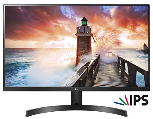 LG 24MK600M Monitor, 23,8 Pollici, LED IPS Full HD 1920 x 1080, 5 ms, Radeon FreeSync 75 Hz,...