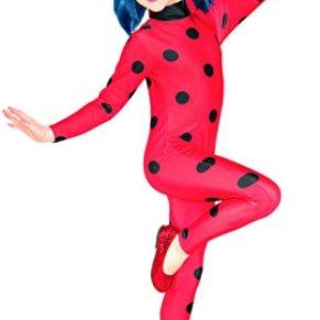Miraculous–i-620794m–Disfraz clásico Ladybug Miraculous–Disfraz + máscara–talla M