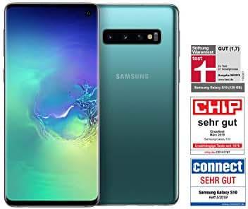 Samsung Galaxy S10 Smartphone (15.5cm (6.1 Zoll) 128GB interner Speicher, 8GB RAM, Prism Green) - Deutsche Version