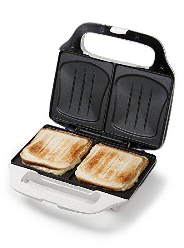 XL-Sandwich-Tostapane, Sandwichmaker Forma a conchiglia, 2 Sandwichfette biscottate allo stesso...