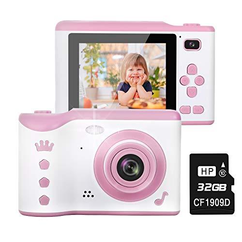 NEXGADGET Macchina Fotografica per Bambini Fotocamera Digitale Portatile Selfie 2,8 Pollici LCD /...