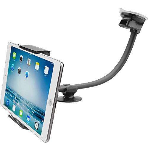 APPS2CAR Supporto per Parabrezza aspirazione per Tablet Auto w/Braccio Lungo Super Flessibile 13...