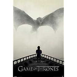Grupo Erik Editores Game Of Thrones ( A Lion & A Dragon) - Poster