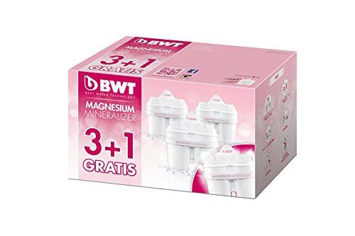 BWT Mg2+ Longlife Filter water filter cartridge bundle (4 months of BWT Mg2+ Longlife) (4 cartridges)