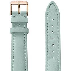 Cluse Damen Uhrenarmband La Bohème Leder Grün CLS032
