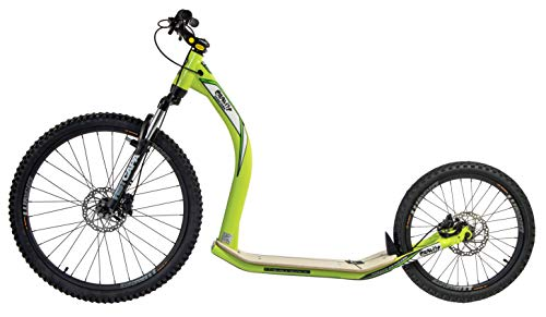 GRAVITY SCOOTERS Patinete para mushing M10 Trail (Verde)