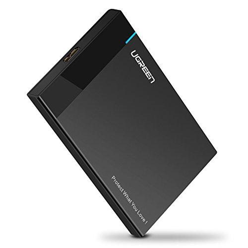UGREEN Case Hard Disk 2.5 '' USB 3.0 con UASP Case Esterno Disco Rigido per HDD SSD SATA I II III...