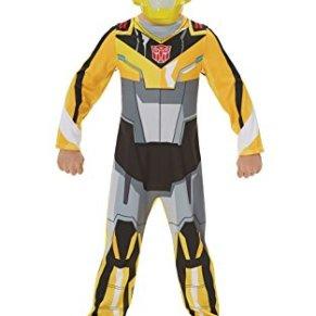 Rubies - Disfraz Oficial de Transformers Bumble Bee para niños, diseño de superhéroe