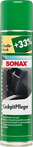 SONAX 342300 CockpitPfleger Vanilla-fresh, 400ml