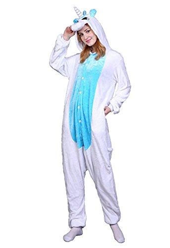 ABYED Adulte Unisexe Anime Animal Costume Cosplay Combinaison Pyjama Outfit  Nuit Vetements Onesie Fleece Halloween Costume 8eda6cd1e542