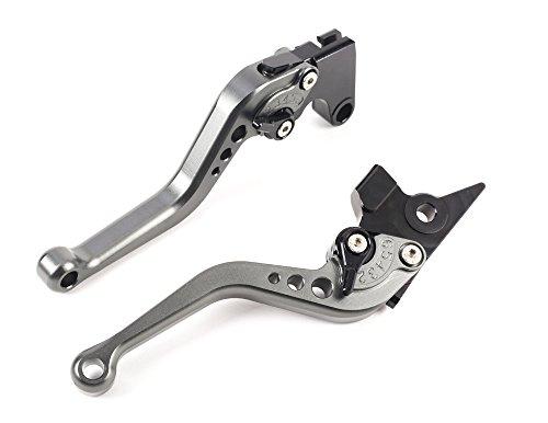 Motocicletta Breve Leve Freno e Frizione in CNC Alluminio Regolabile per moto sportiva YAMAHA FZ6...