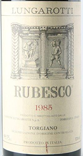 RUBESCO LUNGAROTTI 1985, Torgiano