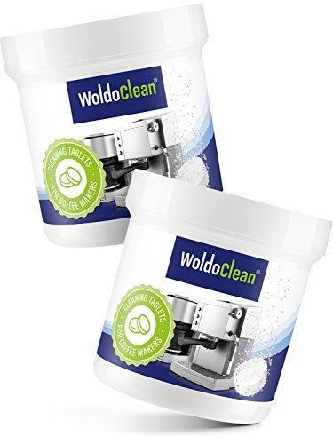 Reinigungstabletten für Kaffeemaschine Kaffeevollautomaten Vollautomat Kaffeeautomat - 2x 40 Tabletten a 2g Kompatibel mit Jura, Delonghi, Bosch, Siemens Seaco, uvm.