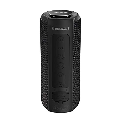 Tronsmart T6 Plus Cassa Bluetooth 40W, Altoparlante Waterproof IPX6 con Powerbank, Suono Stereo TWS...