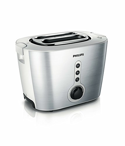 Philips HD2636/00 tostapane 2 fetta/e Nero, Metallico 1000 W