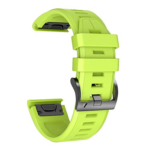 NotoCity Cinturino per Garmin Fenix 5/Fenix 5 Plus/Fenix 6/Fenix 6 PRO/Forerunner 935/945, Quick Fit 22mm Cinturino di Ricambio in Silicone, Quick-Fit, Colori Multipli