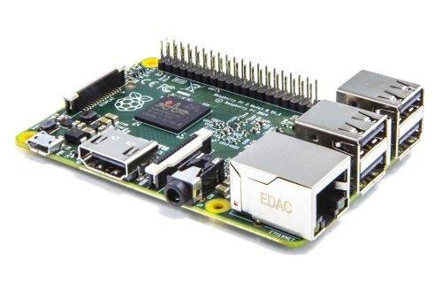 4133JwedpXL - Raspberry Pi 2 Model B - Placa Base (Arm Quad-Core 900 MHz, 1 GB RAM, 4 x USB, HDMI, RJ-45)