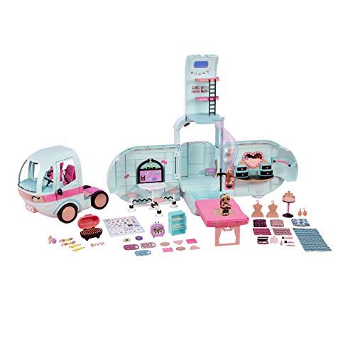 Giochi Preziosi L.O.L. Surprise! Glamper - Veicolo per bambole e Pets LOL Surprise! con oltre 50 Sorprese e una Bambola inclusa