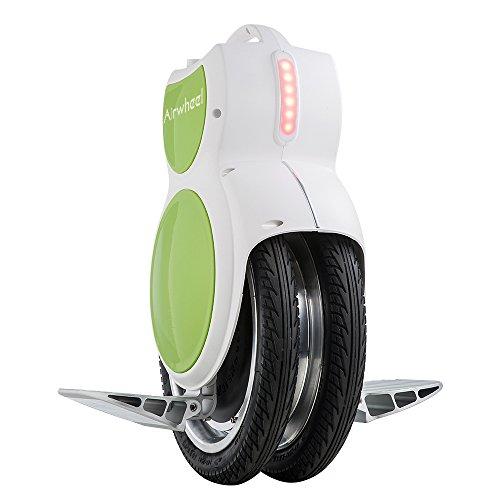 Airwheel Q6électrique Monocycle The Ultimate Twin Version de Roue avec Lampes LED et Béquille