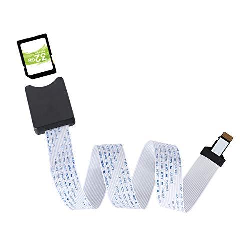 Cavo di prolunga TF per scheda SD Cavo di prolunga per scheda di memoria per Mini 3D / GPS per auto / Schermo LCD Compatibile con Raspberry Pi, Sandisk