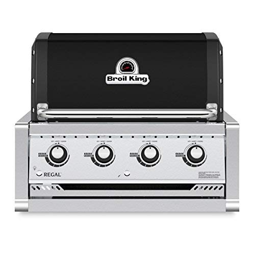Broil King Barbecue a Metano/Gas Naturale Regal 420 da Incasso Nero 2019