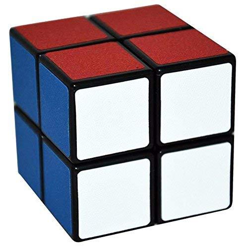 LSMY 1 2x2, Puzzle Cubo Giocattolo Nero
