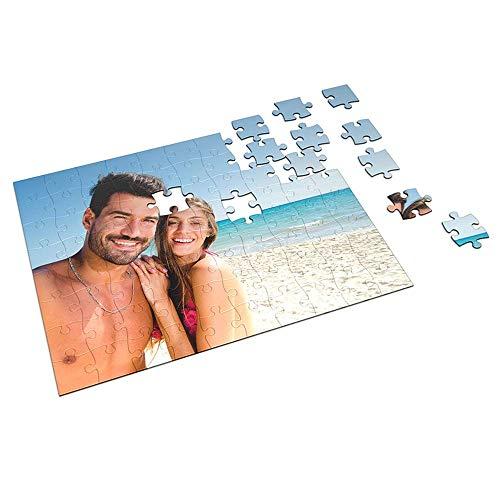 APRIL Puzzle Personalizado Rectangular 70 Piezas con la Imagen y el Texto Que Quieras (70 Piezas)