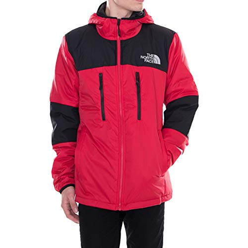 The North Face M Him Ligt Synt Hood Tnf Red/Tnf Black L