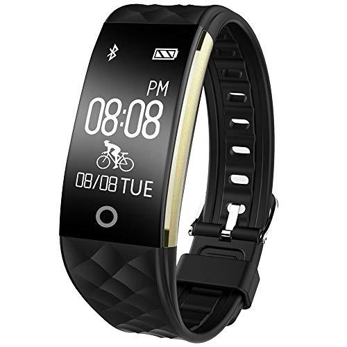 c22ac775d0c67 Willful Montre Connectée Bracelet Connecté Podometre Smartwatch Femme Homme  Etanche IP67 Enfant Sport Cardio Fitness Tracker