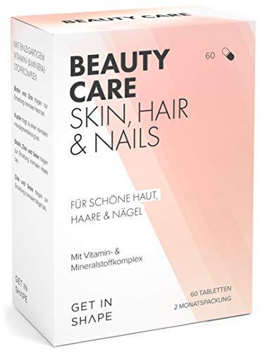 Beauty Care Haar Vitamine Hochdosiert Biotin Zink Selen Mit